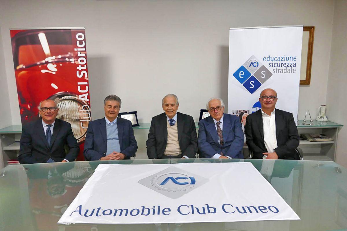 Il Consiglio Direttivo dell'Aci Cuneo che resterà in carica fino al 2020