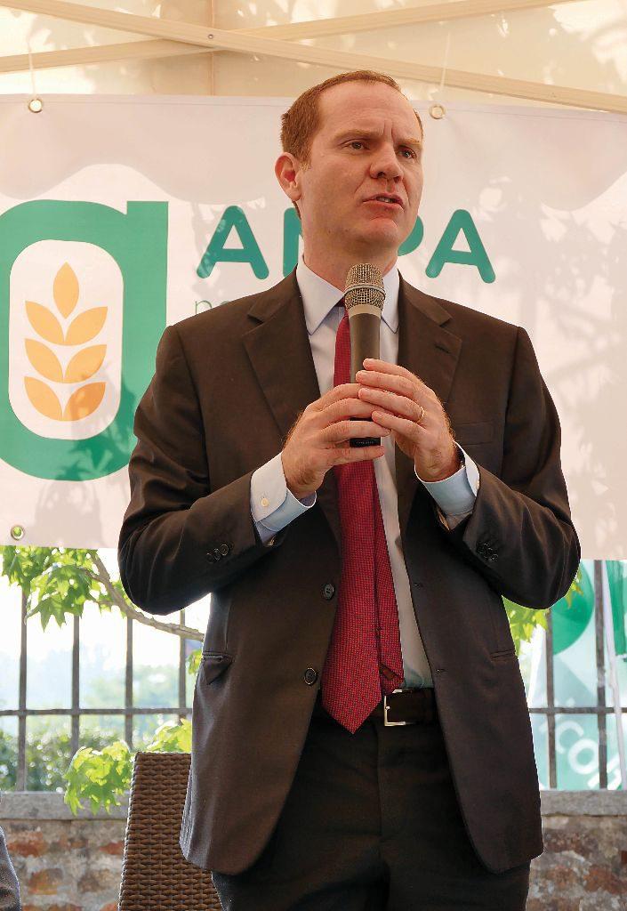 Il presidente nazionale di Confagricoltura, Massimiliano Giansanti