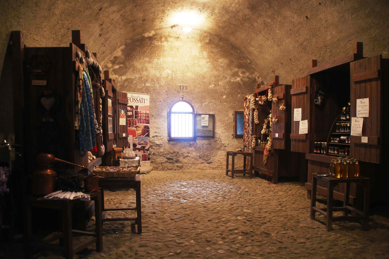 L'allestimento del Temporary Shop in una passata edizione