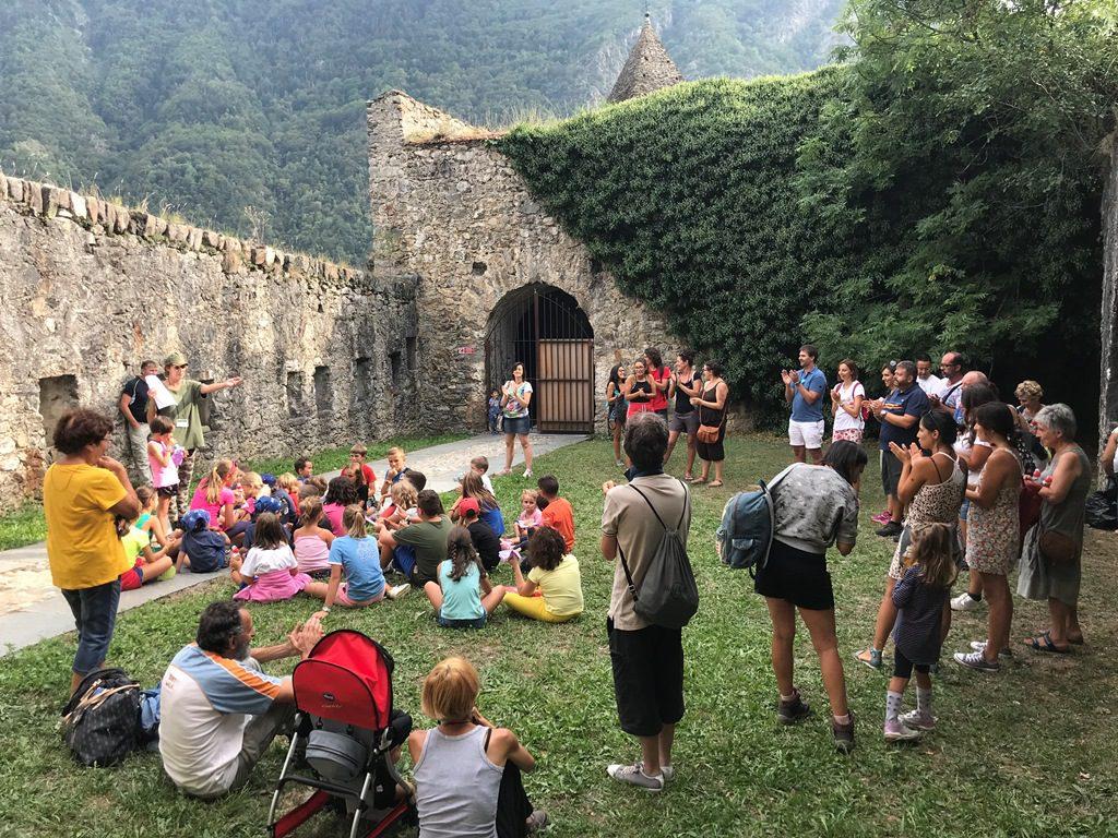 Attività per famiglie al Forte di Vinadio