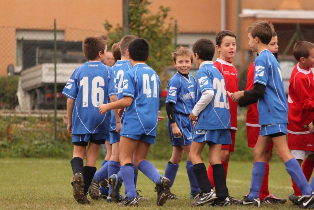 Azione gioco bambini Csi Cuneo