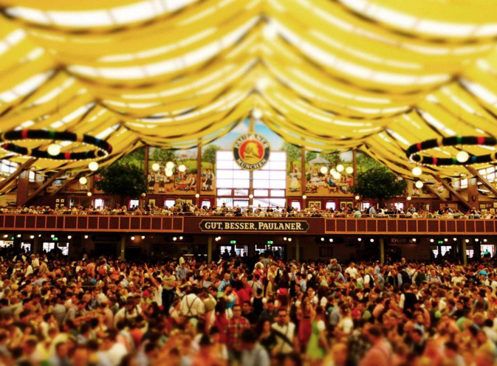 Un'immagine dell'Oktoberfest