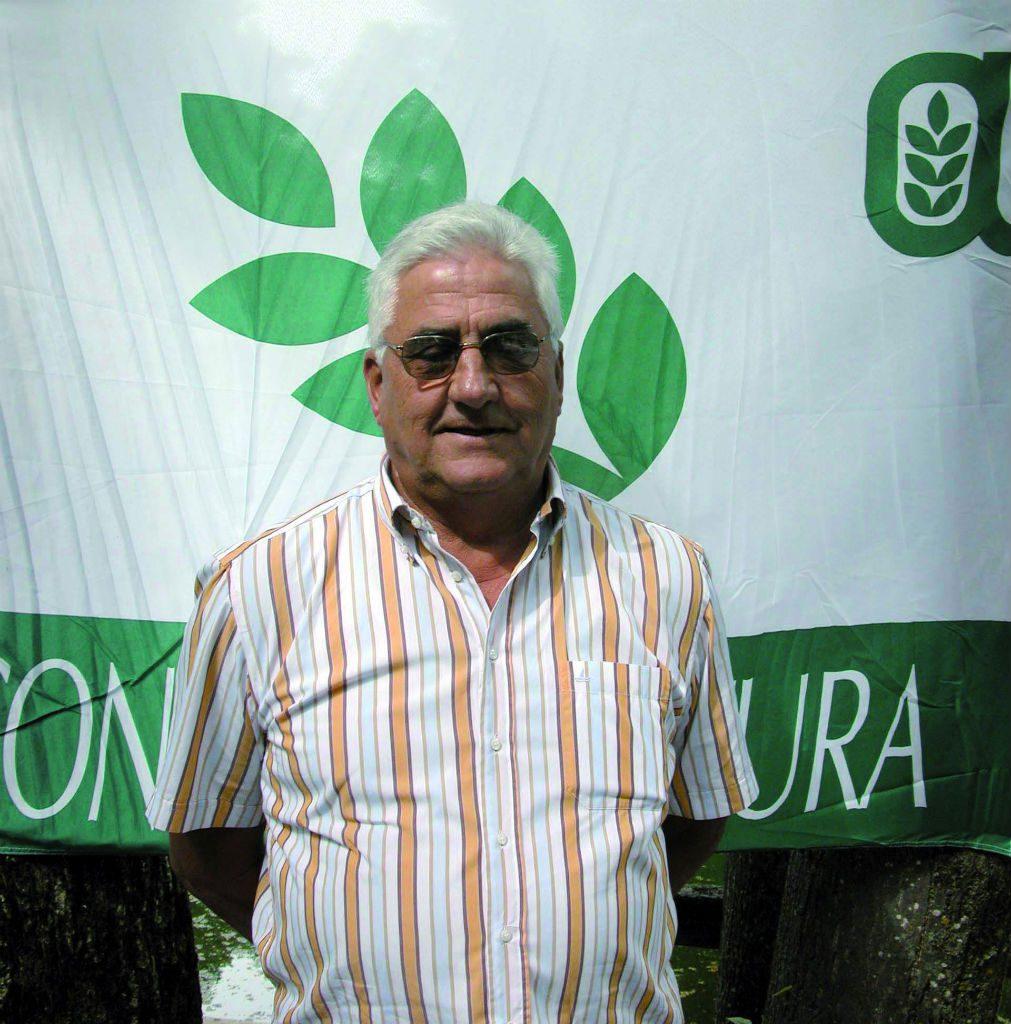 Remo Tortone, presidente dei pensionati di Confagricoltura Cuneo