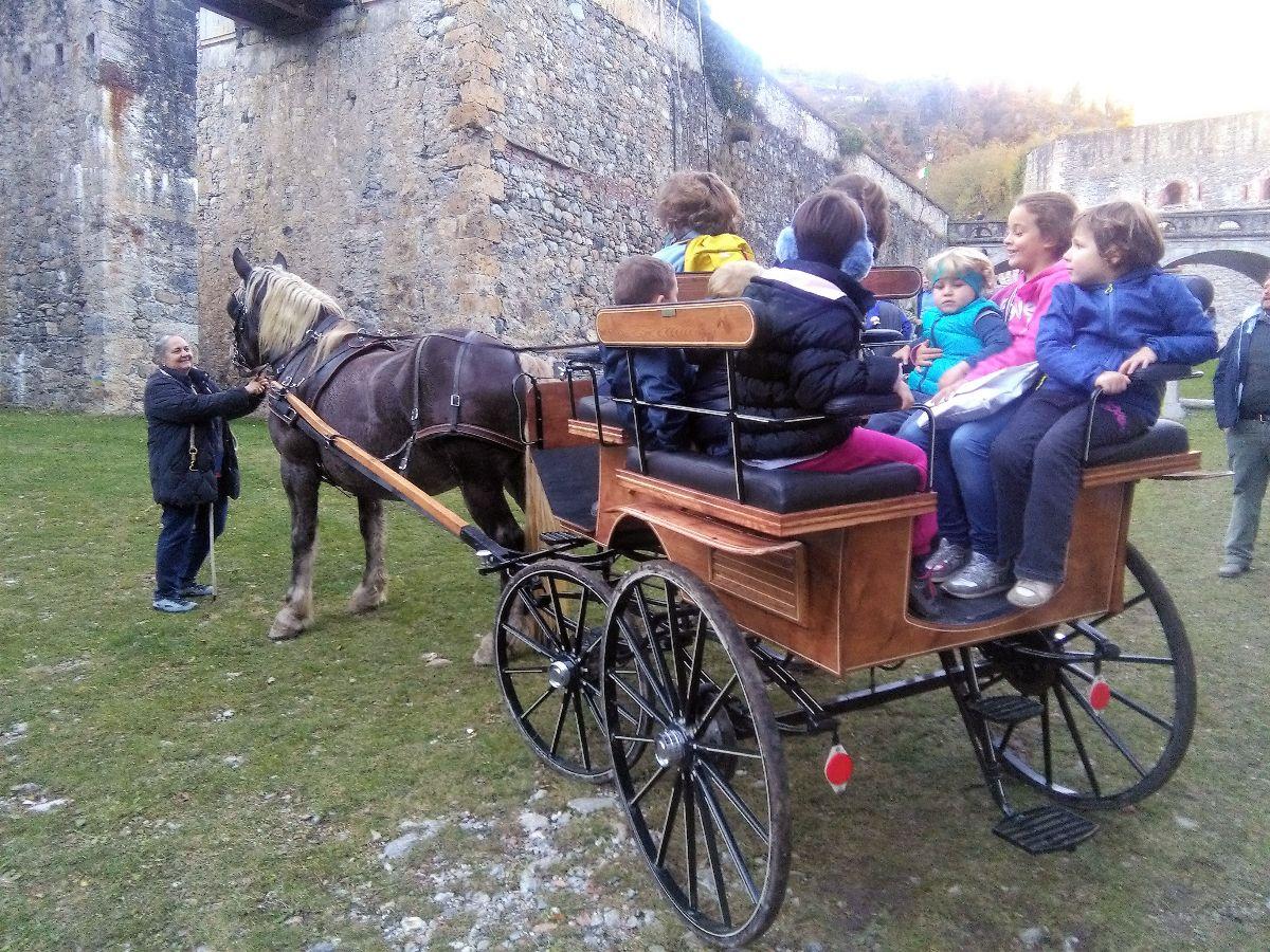 Un pomeriggio in carrozza al Forte di Vinadio