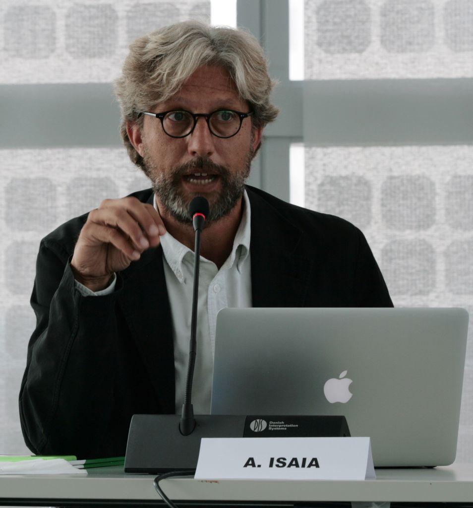 Alessandro Isaia, direttore di Fondazione Artea