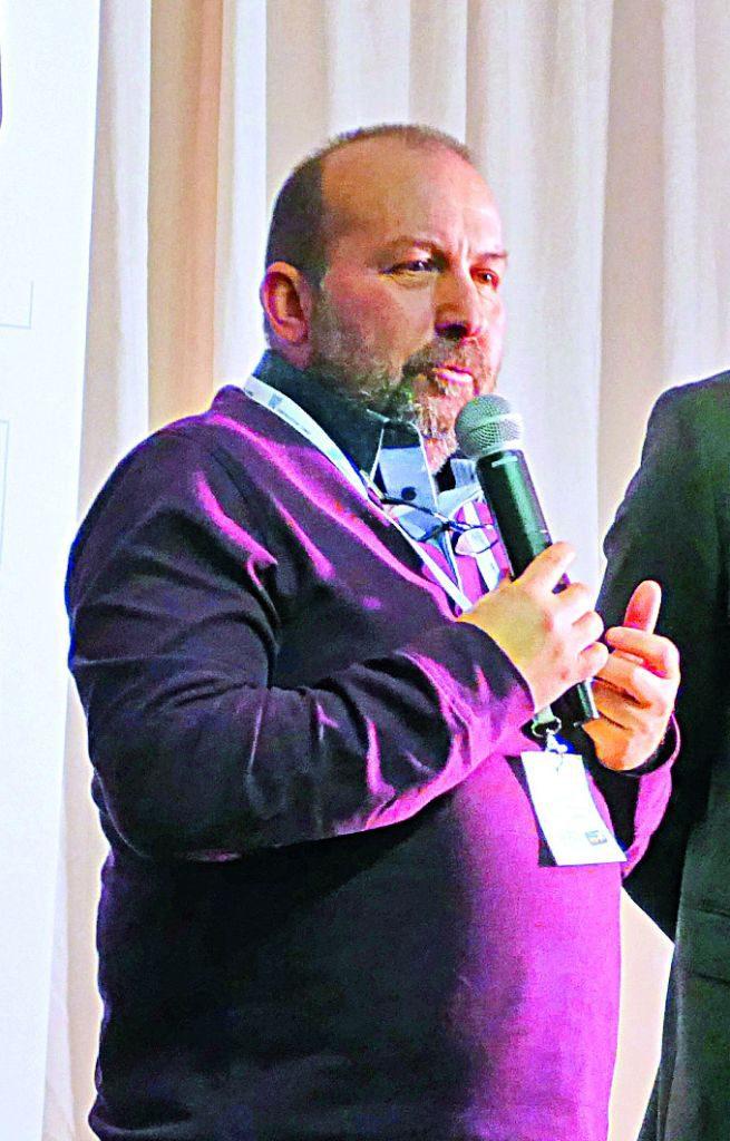 Nicola Dalmasso, presidente di Cuneo Neve
