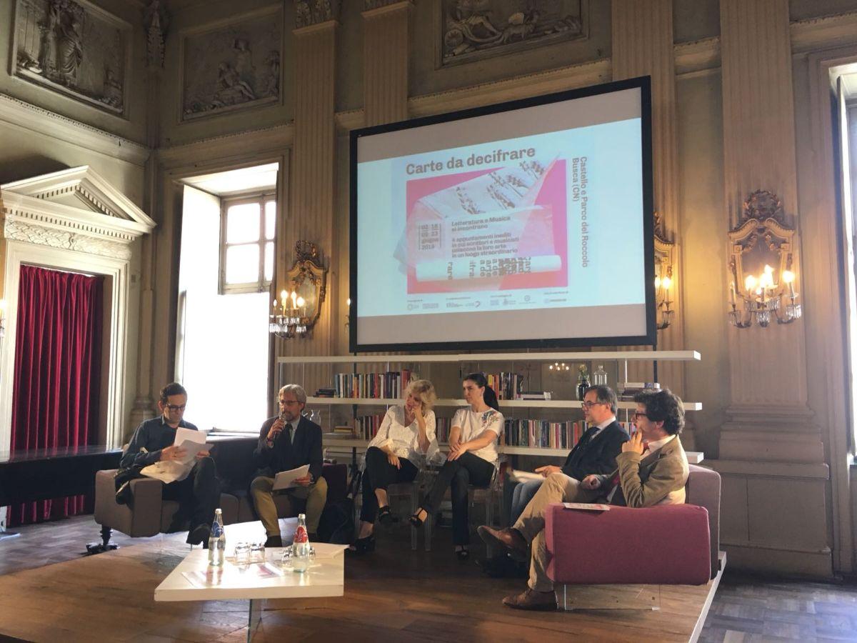 """La presentazione di """"Carte da Decifrare"""" al Cicolo dei Lettori a Torino"""