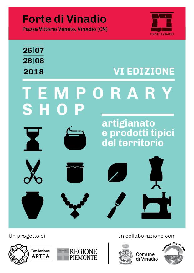 Il programma della VI edizione del Temporary Shop.