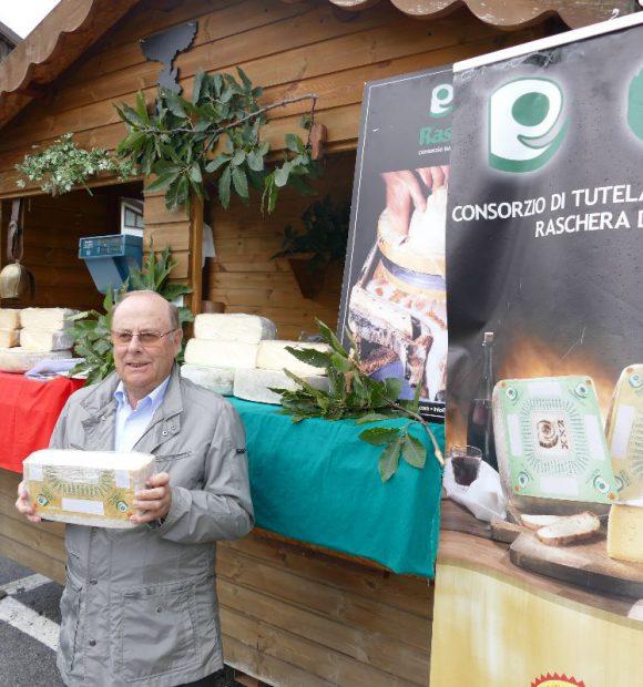 Franco Biraghi, presidente del Consorzio di tutela del formaggio dop Raschera