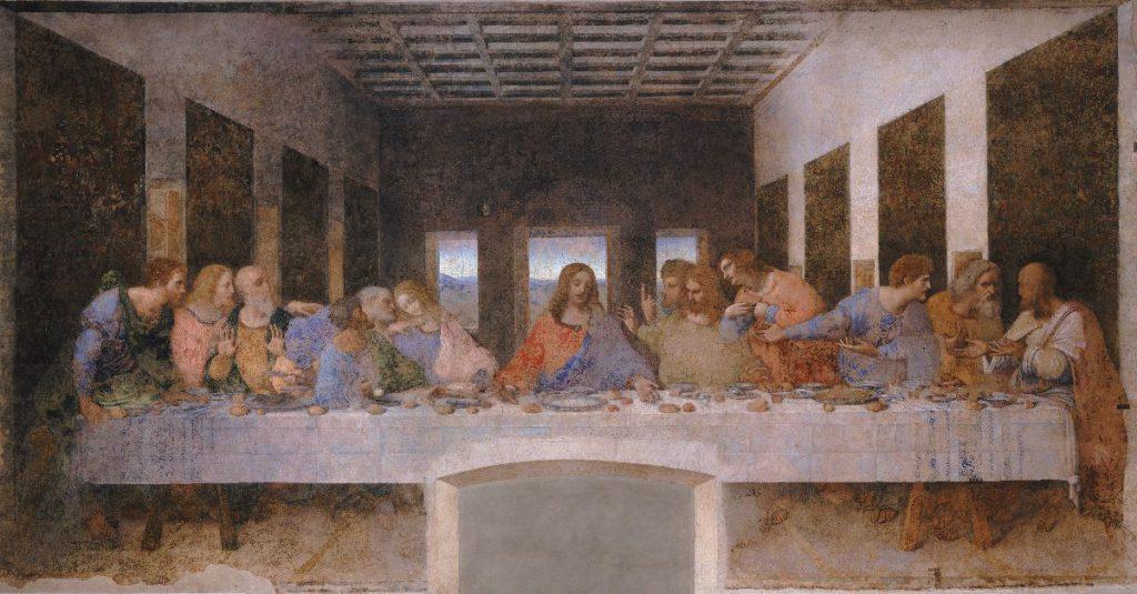 11 - Il Cenacolo - Milano, Refettorio di Santa Maria delle Grazie