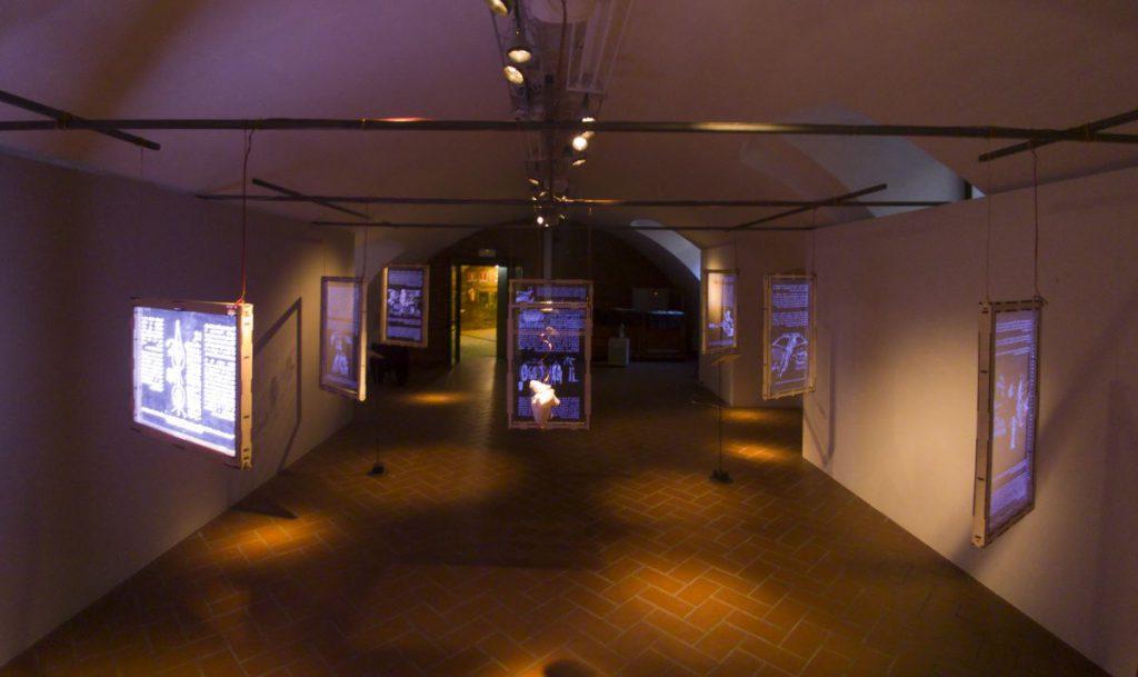 Le installazioni della mostra IN leONardo (Foto di Francesca Ambrogio e Luca Ferrua)