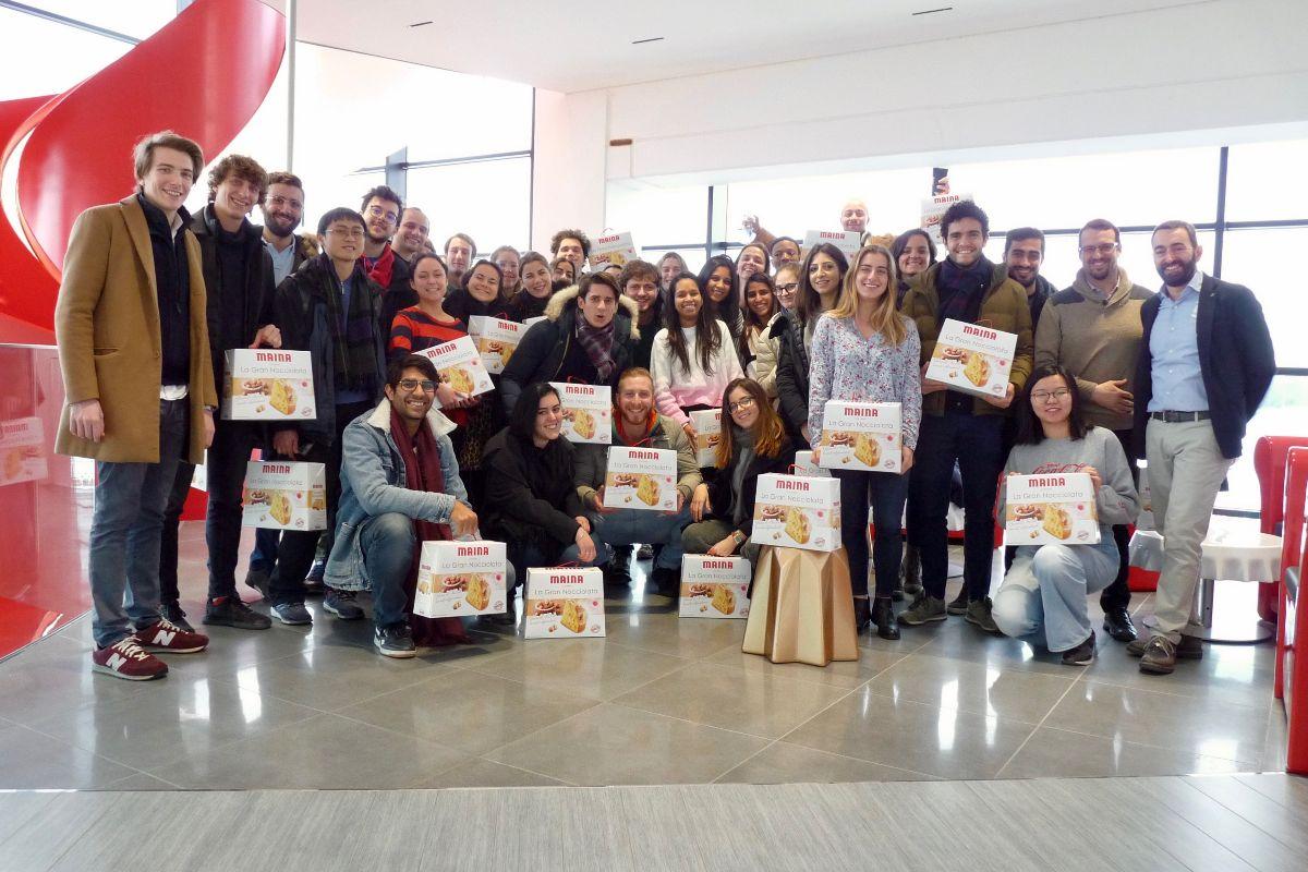 Gli studenti dell'ESCP Europe Business School in visita alla Maina