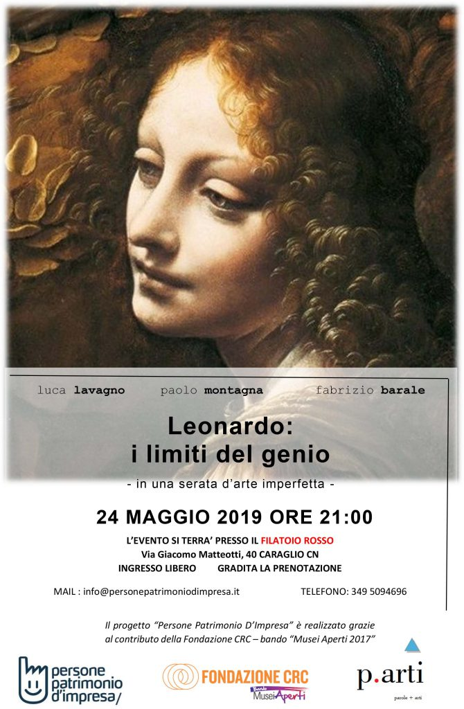 "Locandina ""Leonardo. I limiti del genio"""