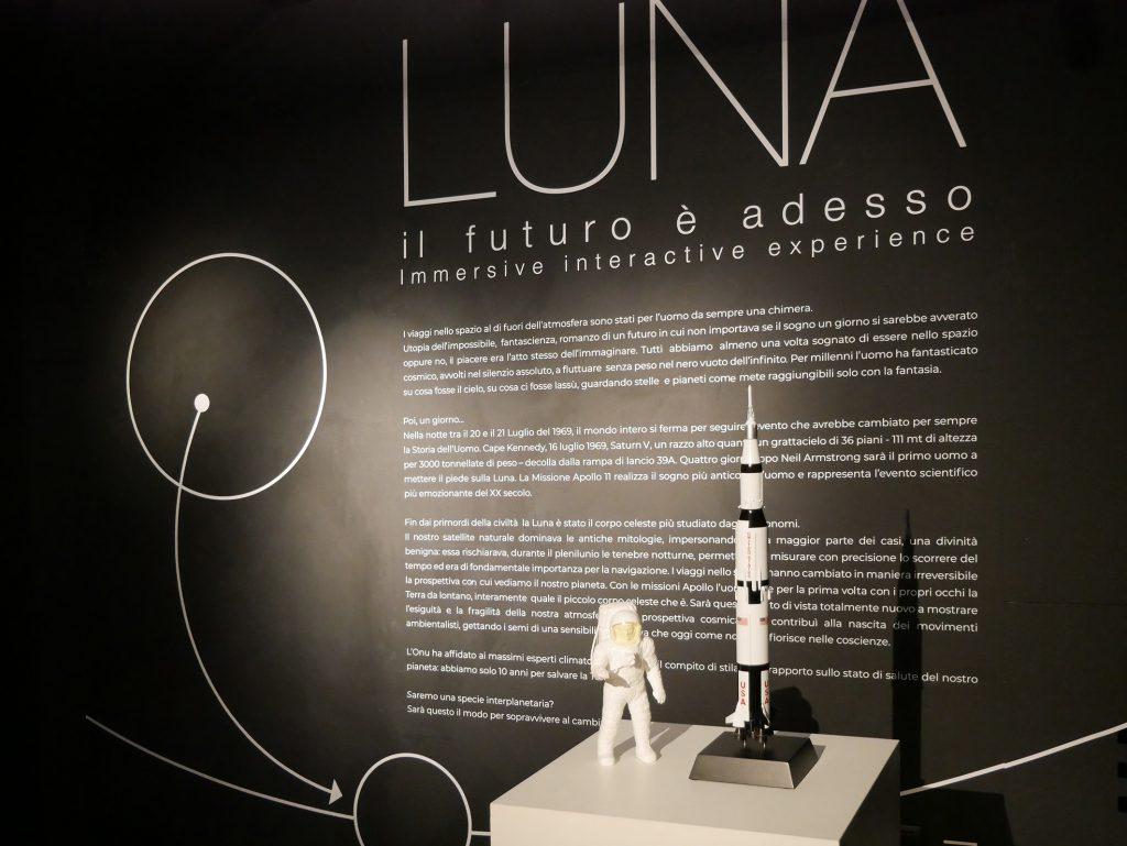 """nuova Immersive Interactive Experience """"Destinazione Luna. Il futuro è adesso"""