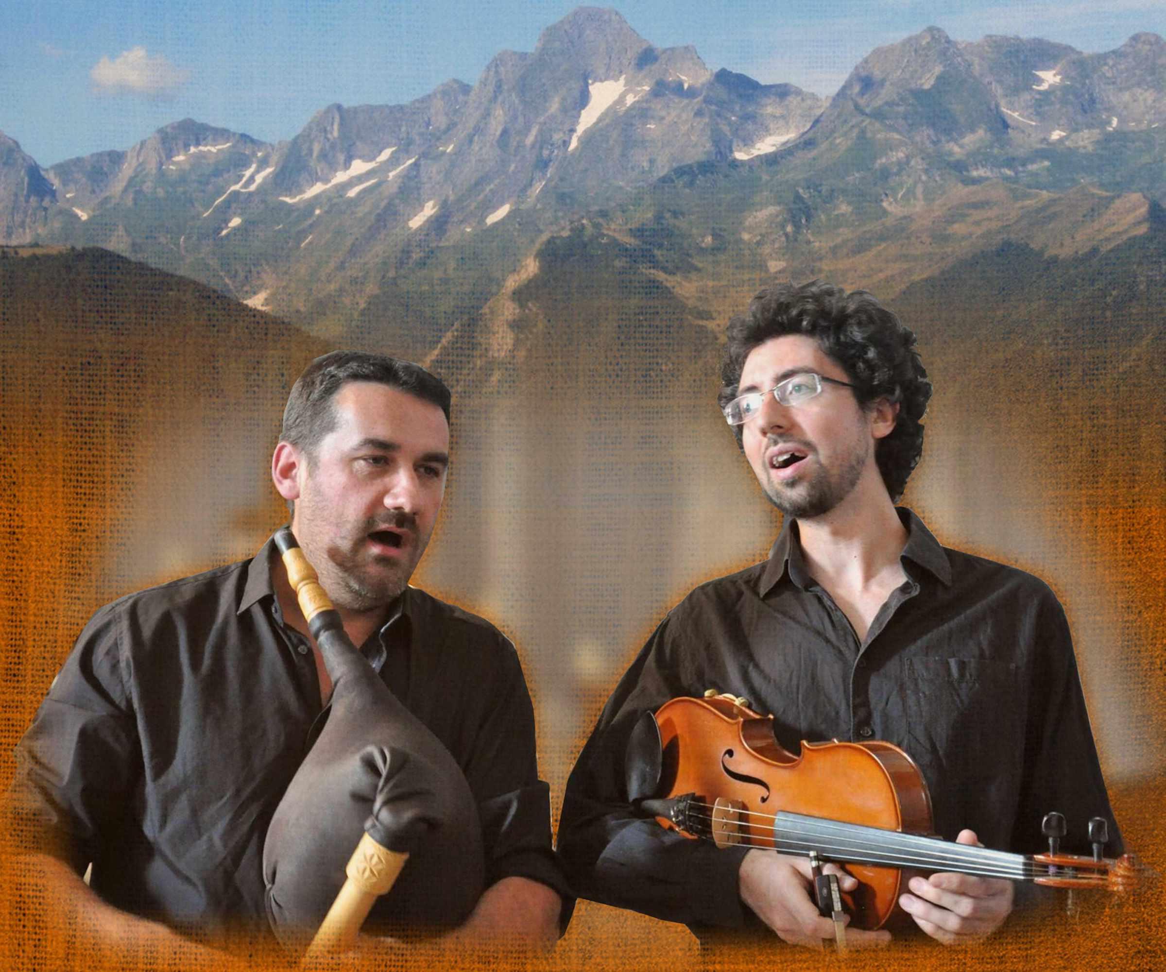 Rouch Bourry: duo di musica tradizionale dei Pirenei